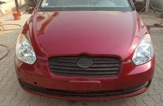 Clean Hyundai Accent 2008 Red for sale