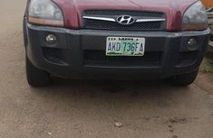 Hyundai Tucson 2008 Red For Sale