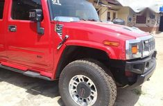 Hummer H2 2007 Red for sale