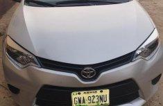 Toyota Corolla 2015 Silver for sale