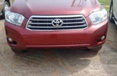 Toyota Highlander 2010 Red for sale