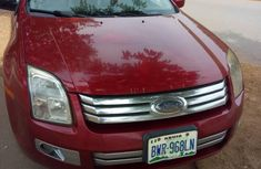 Ford Fusion 2008 Red for sale