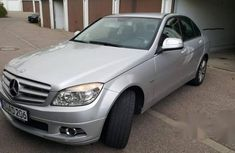 Mercedes-Benz C200 2010 Silver for sale