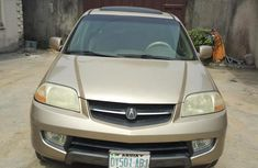 Acura MDX 2003 Gold for sale