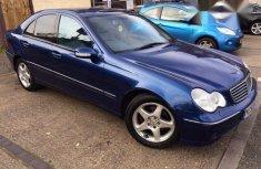 Tokunbo Mercedes-Benz C200 2004 Blue for sale
