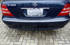 Mercedes-benz S500 2005 Blue for sale