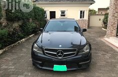 Mercedes-Benz C63 2012 Gray for sale