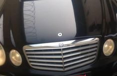Used Mercedes-Benz E Class 2008 Black for sale