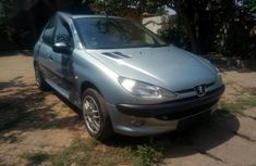 Peugeot 206 Automatic 2002 Gray for sale