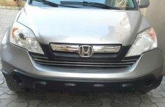 Honda CR-V 2007 Silver for sale