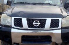 Nissan Titan 2008 Blue for sale