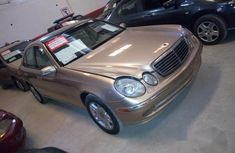 Mercedes-Benz E320 2003 Gold for sale
