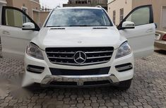 Tokunbo Mercedes Benz ML350 2012 White for sale