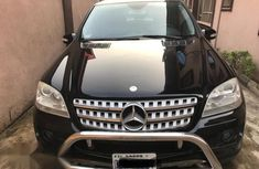 Neat Mercedes Benz ML500 2008 Black for sale