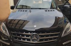 Used Mercedes Benz Ml 350 2014 Black for sale