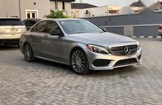 Mercedes-Benz C400 2016 Silver for sale