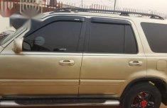 Neatly Nigerian Used Honda Crv 2000 Gold for sale
