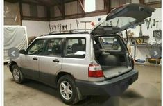 Tokunbo Subaru Legacy 4WD 2001 Silver for sale