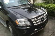Mercedes-Benz M Class ML350 2010 Black for sale