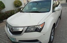 Acura MDX 2010 White for sale