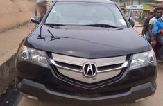 Clean Acura MDX 2007 Black  for sale