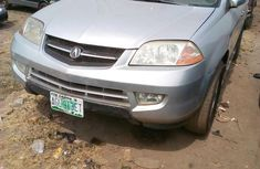 Neatly Used Acura MDX 2005 Silver for sale