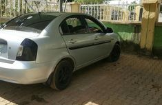 Clean Hyundai Accent 2006 Gray for sale