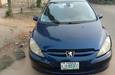 Peugeot 307 2003 CC 2.0 Blue for sale