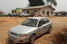 Used Hyundai Accent 2002 Silver for sale