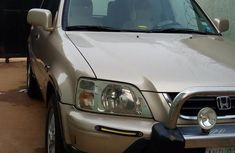 Clean Honda CR-V 2000 Gold for sale