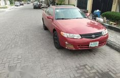 Toyota Solara 2002 Red for sale