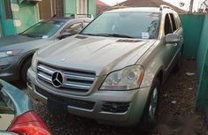 Mercedes-Benz GL Class GL450 2007 Silver for sale