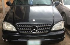 Mecredes Benz ML320 1999 Black for sale