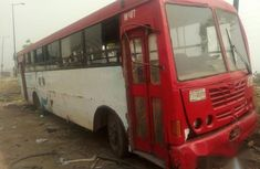 Commercial 2000 Red Bus