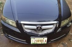 Clean Acura CL 2007 Black for sale