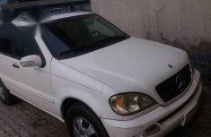 Mercedes-benz ML 320 2003 White for sale