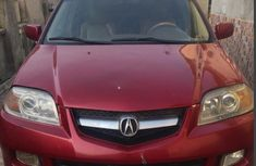 Acura MDX 2004 Red for sale