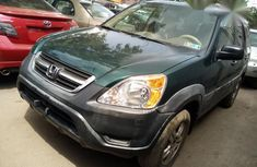 Clean Tokunbo Honda CRV 2002 Green for sale