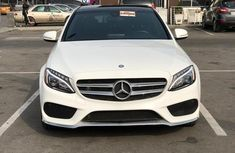 Mercedes-Benz C400 2015 White for sale