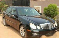 Tokunbo Mercedes-Benz E350 2009 Black for sale