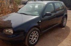 Volkswagen Golf 2005 2.0 Bi-Fuel Variant Black for sale