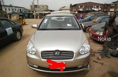 Hyundai Accent 1.6 GLS 2008 Gold for sale