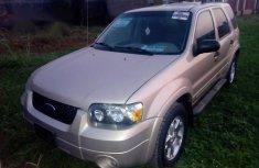 Ford Escape 2007 Gold for sale