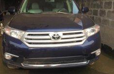 Toyota Highlander 2012 Blue for sale