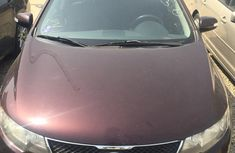 Kia Forte 2010 Red for sale