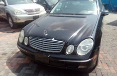 2003 Black Mercedes-Benz E500 for sale