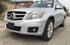 Mercedes-Benz GLK 2012 Silver for sale