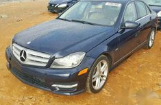 Mercedes-Benz C250 2012 Black for sale