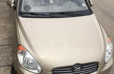 Hyundai Accent 2006 Gold for sale