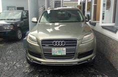 Audi Q7 2007 Green for sale